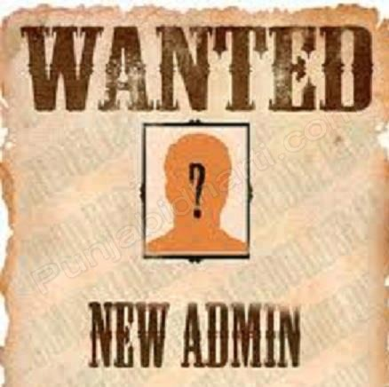 Admins Wanted